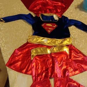 Supergirl costume size small